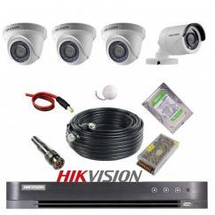 پکیج 4 دوربین هایک ویژن 2M-3D1B
