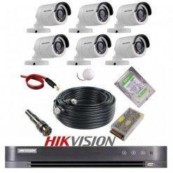 پکیج 6 دوربین هایک ویژن 2M-6B