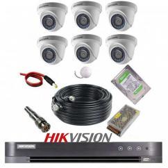پکیج 6 دوربین هایک ویژن 2M-6D