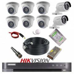 پکیج 8 دوربین هایک ویژن 2M-6D2B
